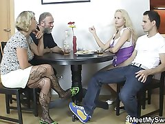Her pussy gets disobeyed and fucked by his parents
