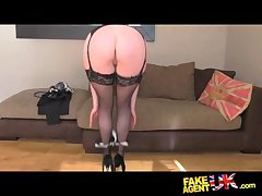 FakeAgentUK Stocking mush posh MILF in favour in try it in all directions from on casting