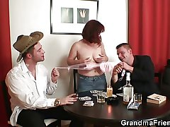Strip poker leads to triumvirate