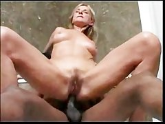 Blonde Mature anal round Rasta Man