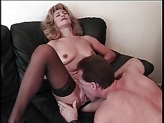 Very attractive blonde milf wide big nipples