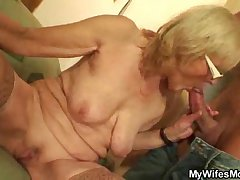 Muscled guy gender his wife's mommy