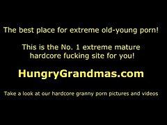 Sexy old granny Jenna