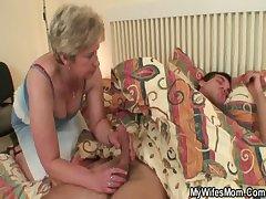 Bushwa hungry granny fucks her nipper in law