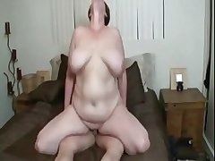Sexy BBW mature helter-skelter huge tits getting fucked
