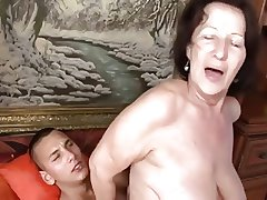dirty granny banged wide of her lady of the night