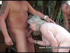 Busty mature Kims amateur compliation