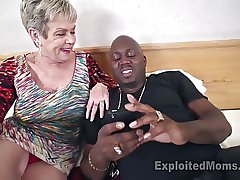 Dominate Granny beside Creampie Video