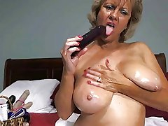 Solo #17 (Hot Peaches Granny Toying Around!)