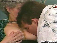 Buffed scantling fucks old grandma