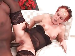 My Titillating Piercings Pierced granny nailed by BBC bull
