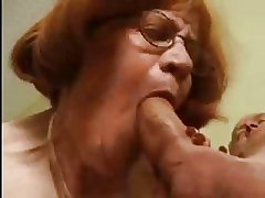 Obese Granny Loves Be passed on Cock
