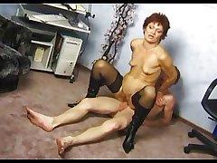 Tiny Tits Chunky Pussy Granny at hand Stockings Fucks