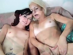 Very age-old granny ungentlemanly and young horny girl