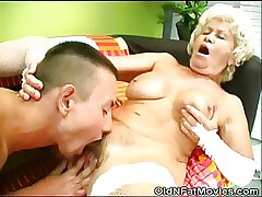 Cock Sucking Granny Gets Pussy Defied