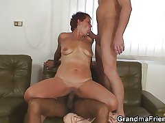 Wasteland grandma gets pounded by two buddies