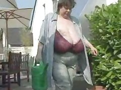 Karola Enormous Granny Tits