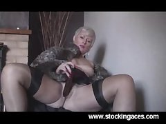 Sexy Saucy Sally Milf In all directions Stockings mature mature porn granny old cumshots cumshot