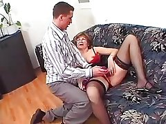 Granny less Glasses and Stockings Loves a Have a passion