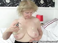 British granny Pearl is notorious for her uppity sex appetite