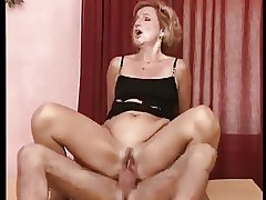 German Granny Laura Gets Pounded Out Anal Parade