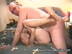Grey couples bizarre homemade porn films