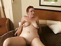 redhead granny hustler fucking