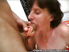 Female parent Dentures And Horseshit Sucking