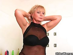 Busty grandma Irena collection