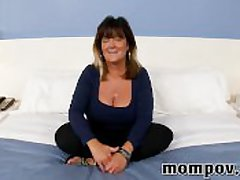 Big confidential matured housewife making saucy video