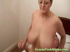 Chunky tit granny hardcore rear