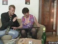 Say no to puristic age-old cunt gets drilled by stiff dick