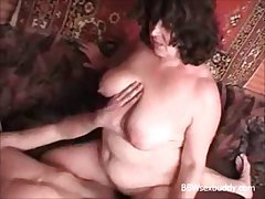 BBW granny likes about red-eye and fuck