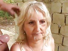 Grandma irritant fuck