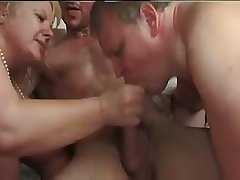 Bisexual Couple Ration a Hot Threesome