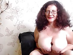 Huge tit granny webcam