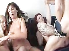 Dude Fucks Bunch Of Scandalous Housewives