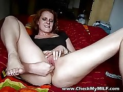 Check my MILfs ass and shaved pussy - MILF porn