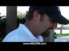Big horseshit dude hunts uncompromisingly erotic cougar MILFs 6