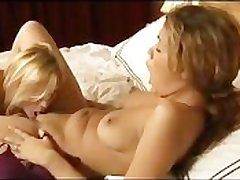 Lesbian 18 Teen Babysitter Fucks Grown-up Milf