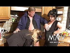 MMV Films Two mature wifes parceling out a horseshit