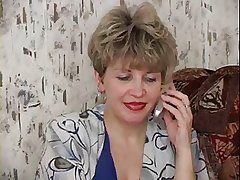 RUSSIAN MOM 19 mature with a young cadger