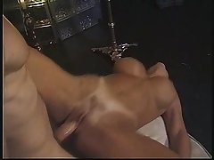 Threesome more a despondent amateur MILF in hindrance