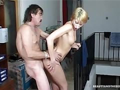 FemaleAgent Unsuspecting stud haunted wits pegging