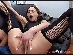 Breathtaking squirt slut sexual connection addict!! French amateur
