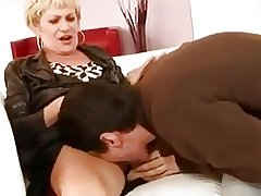 Mature woman and lad - 22