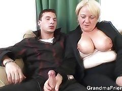 Boozed granny reproduce penetration
