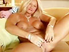 Sexy cougar slips fascinate enjoy her panties