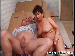 Grown-up amateur spliced homemade anal with facial cumshot