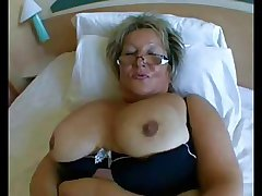 BBW Granny thither big interior in Hard Anal